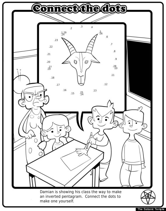 florida satanic church to pass out children 39 s coloring books in