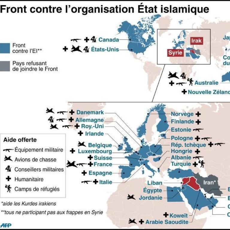 cartes coalition antiei