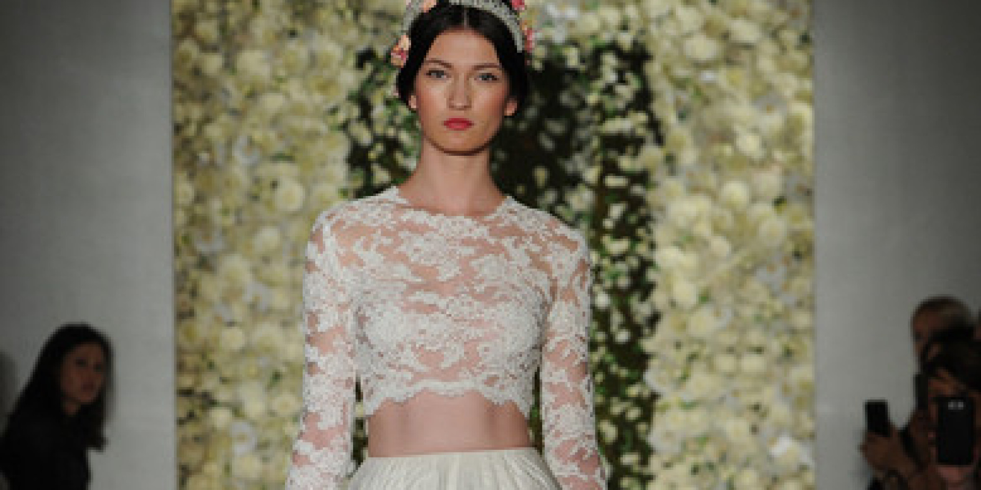 You've Got To See These Reem Acra Wedding Dresses With