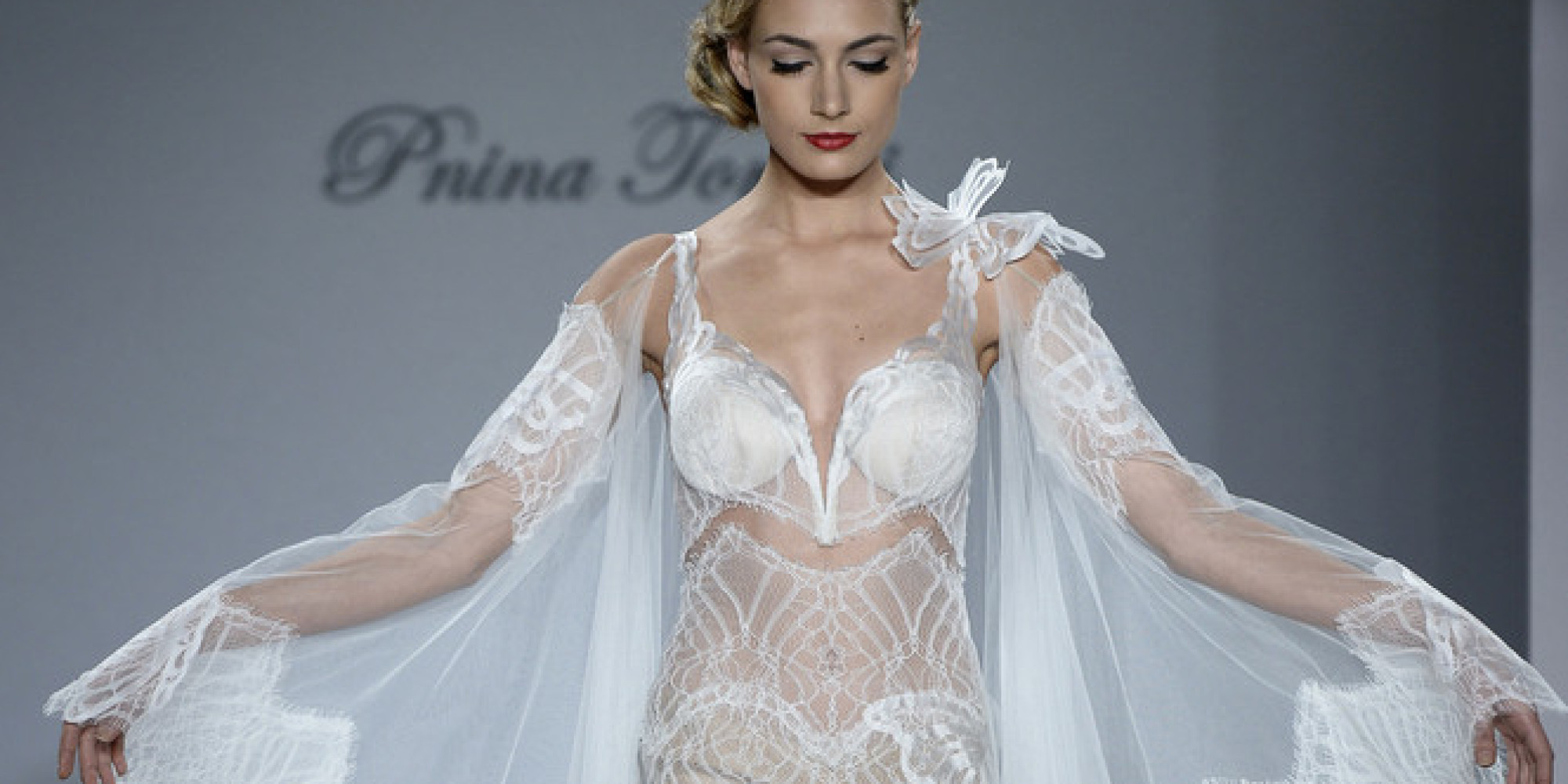 These Wedding Dresses Are For Brides Who Dare To Go Bare