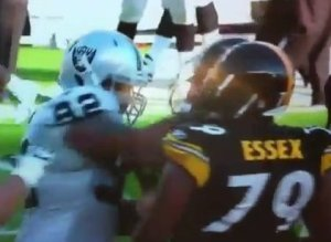 Richard Seymour Punch Video