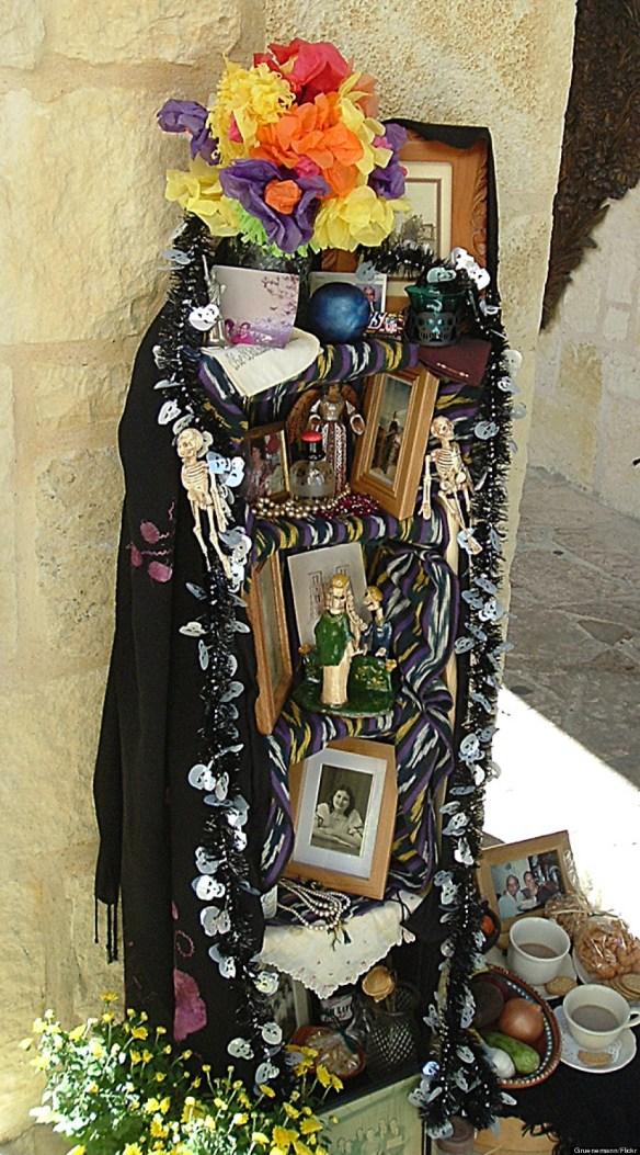 folk art altar