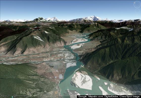 tibet canyon