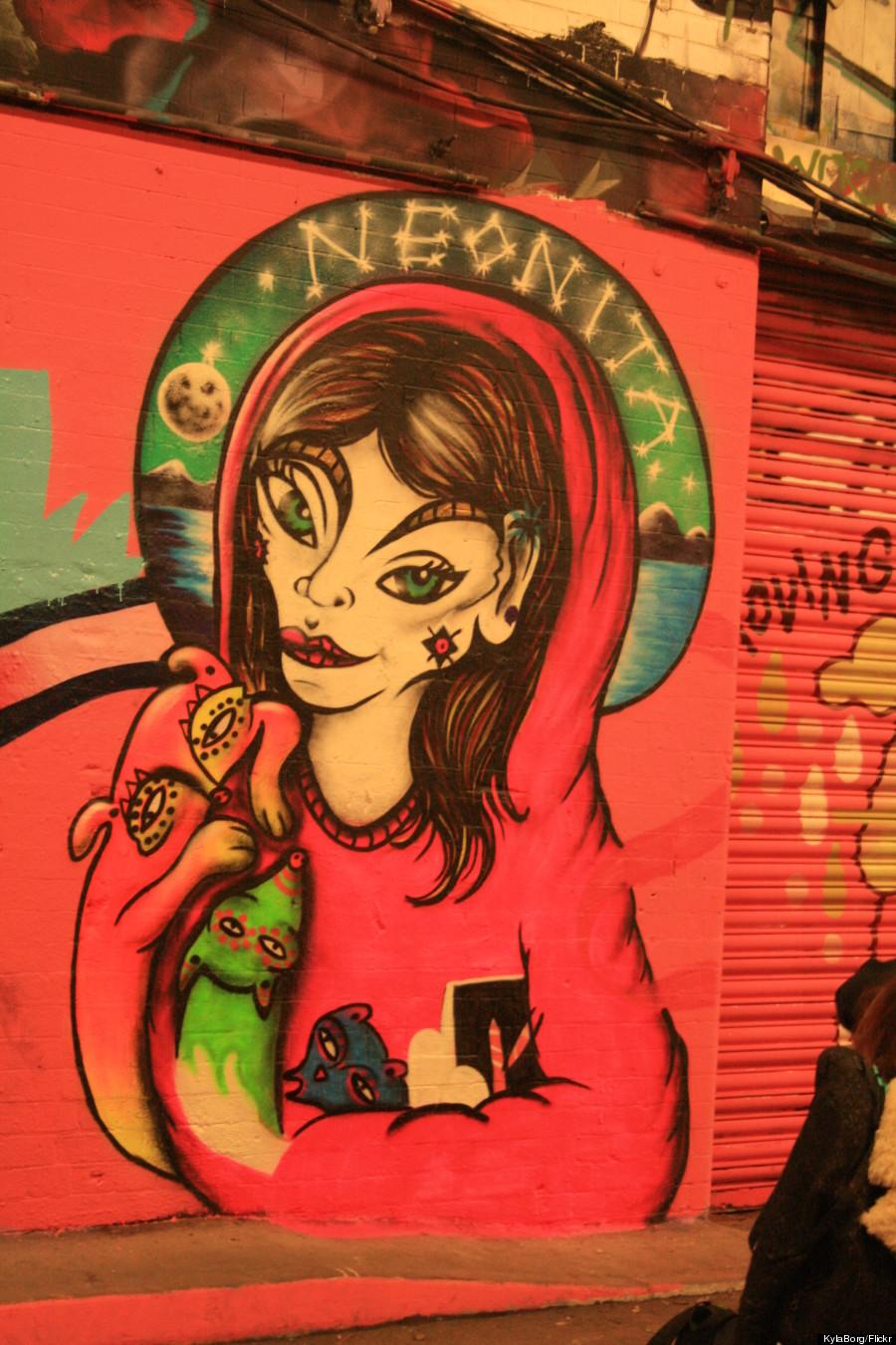 neonita street art