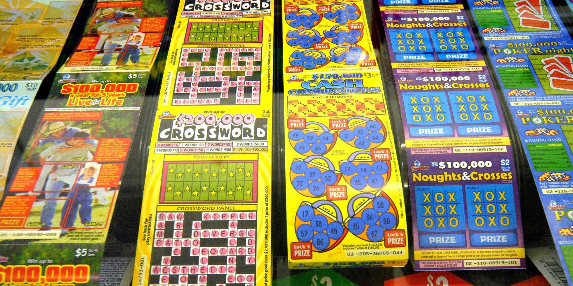 Lottery Tickets Inappropriate Christmas Gift For Kids