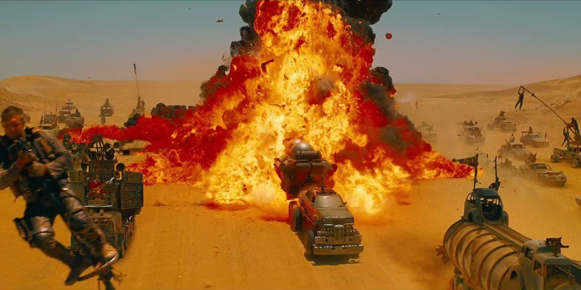 Mad Max explosion
