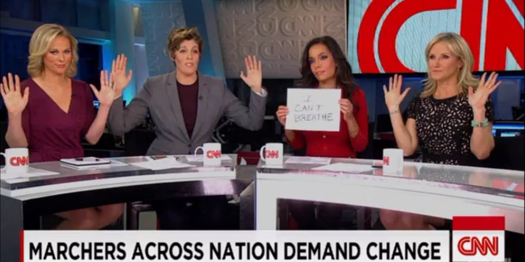 Image result for Hands Up Don't Shoot twitter CNN