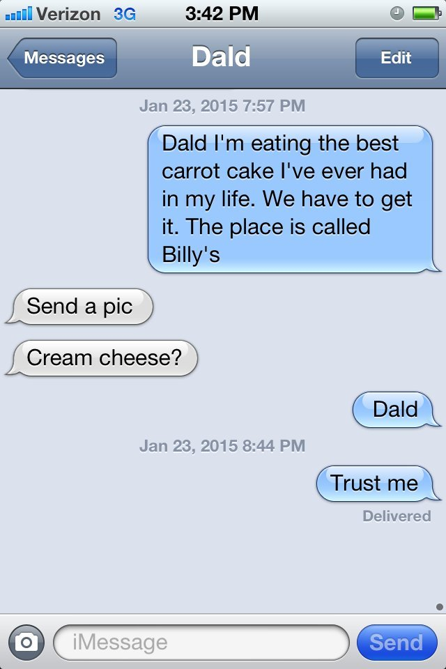 dad text
