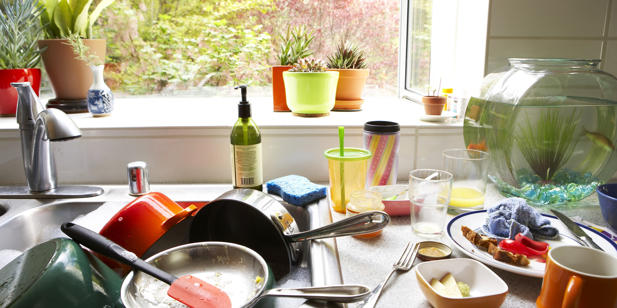 Image result for kitchen mess comic