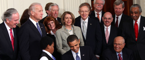 OBAMA SIGNS AFFORDABLE CARE ACT 2010