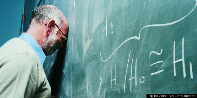 frustrated math