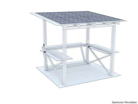 solar power hub