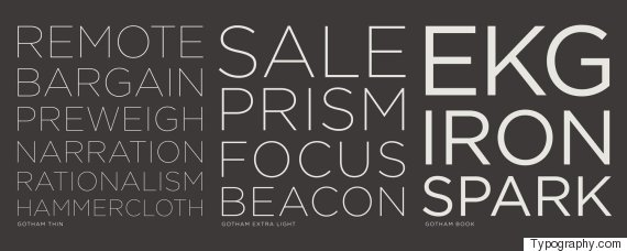 fonts that stand out according to designers huffington post
