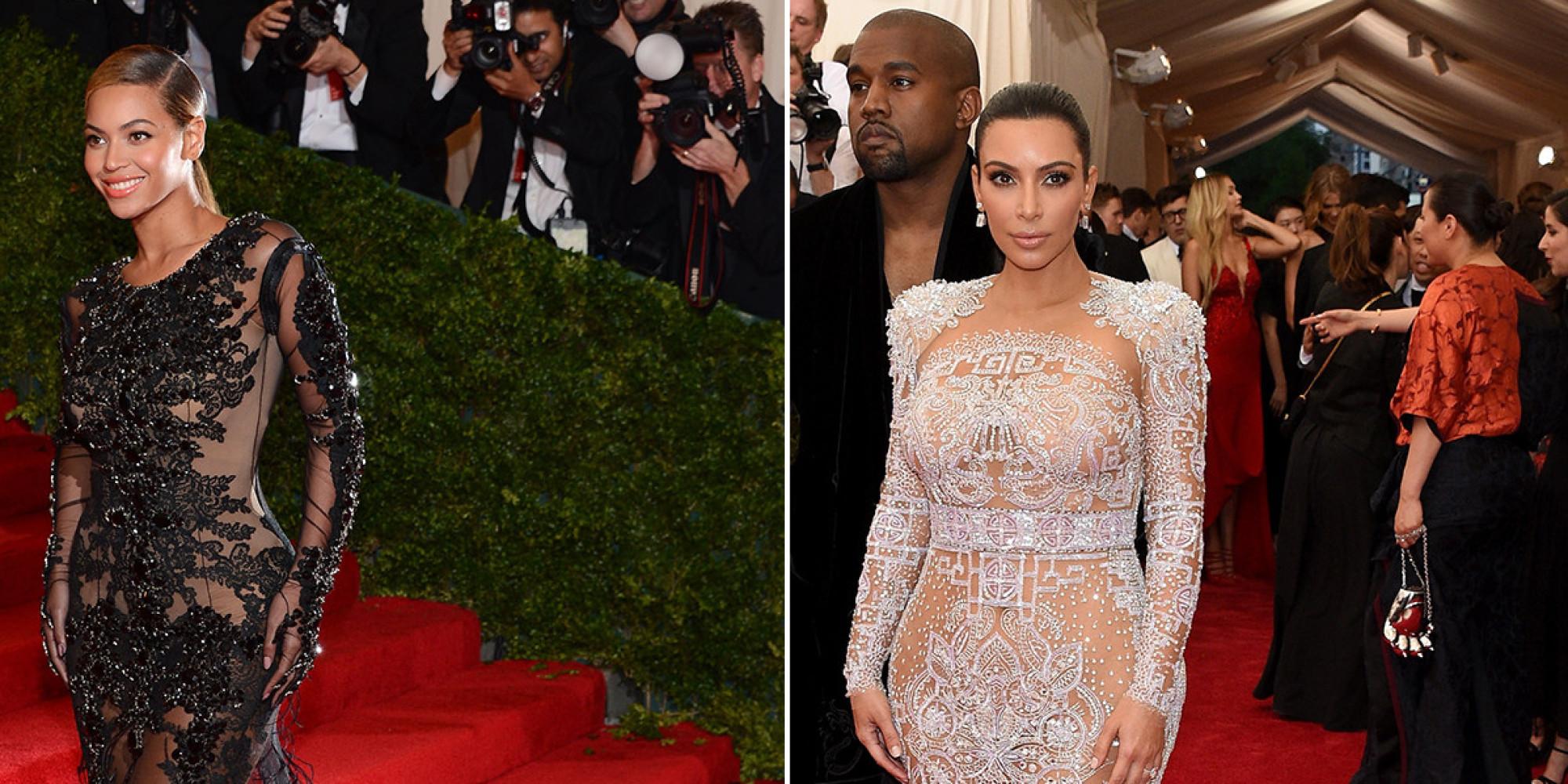 Kim Kardashians Met Gala 2015 Dress Was Very Similar To