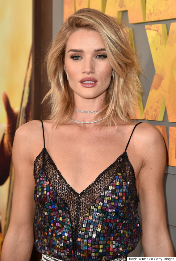 Rosie Huntington Whiteley Is A Vision At Mad Max Fury