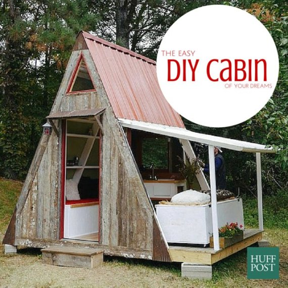Easiest Cabin Build
