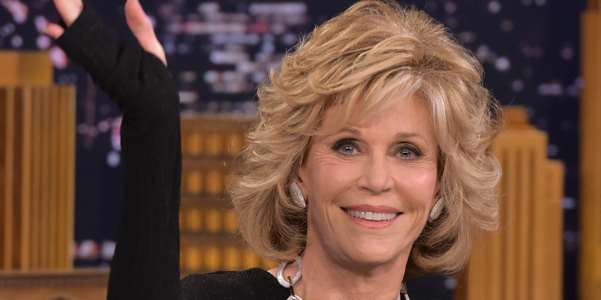 Current Jane Fonda Short Hairstyle