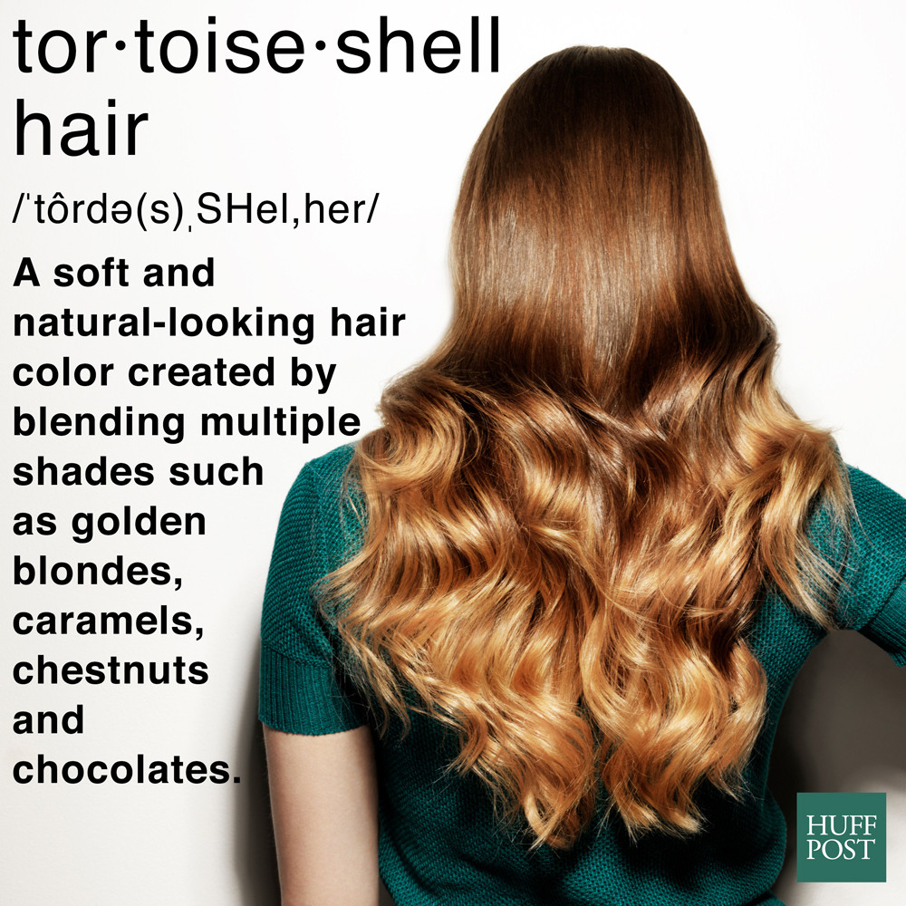 What The Heck Is Tortoiseshell Hair And How Do You Get It