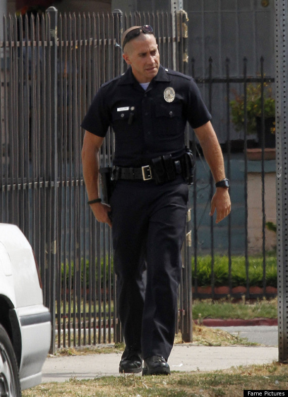 Jake Gyllenhaal In End Of Watch Patrolling As LAPD