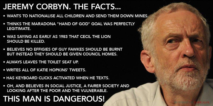 jeremy corbyn the facts