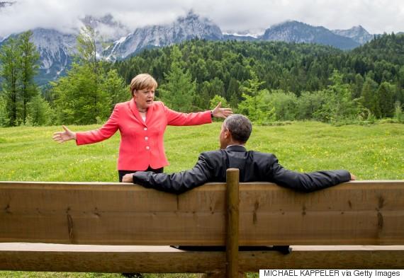 obama merkel g7