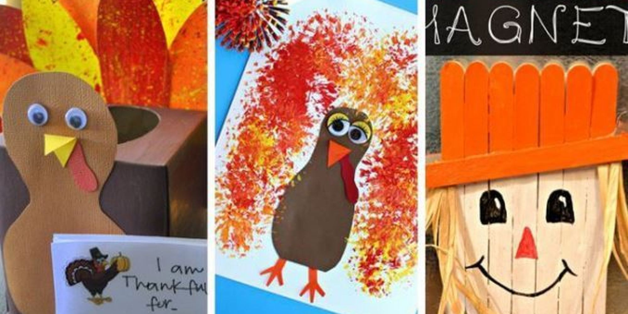 Thanksgiving Crafts 11 Fun And Easy Activities To Help Kids Give Thanks
