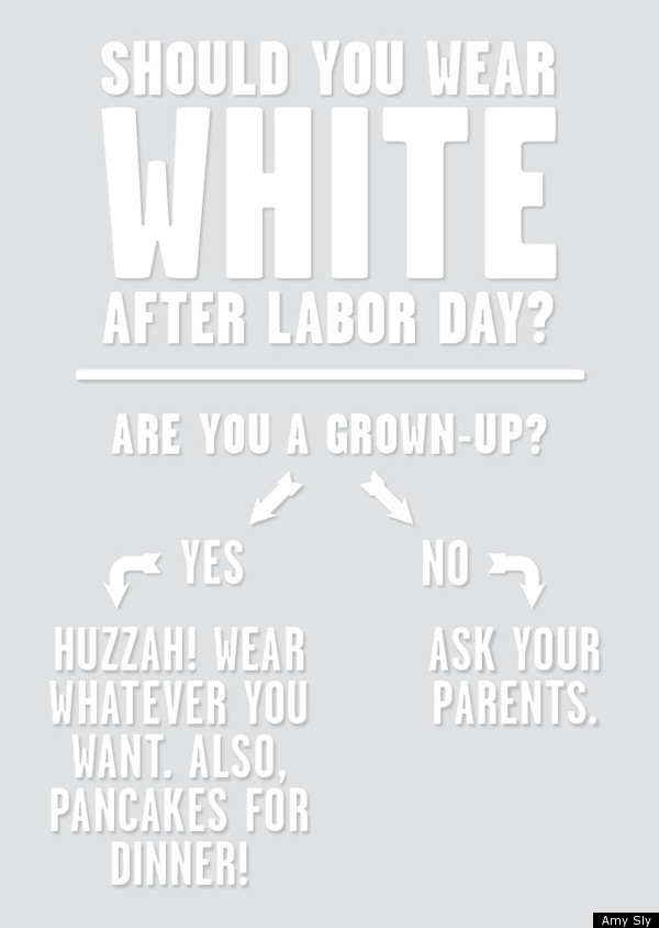 Image result for white after labor day