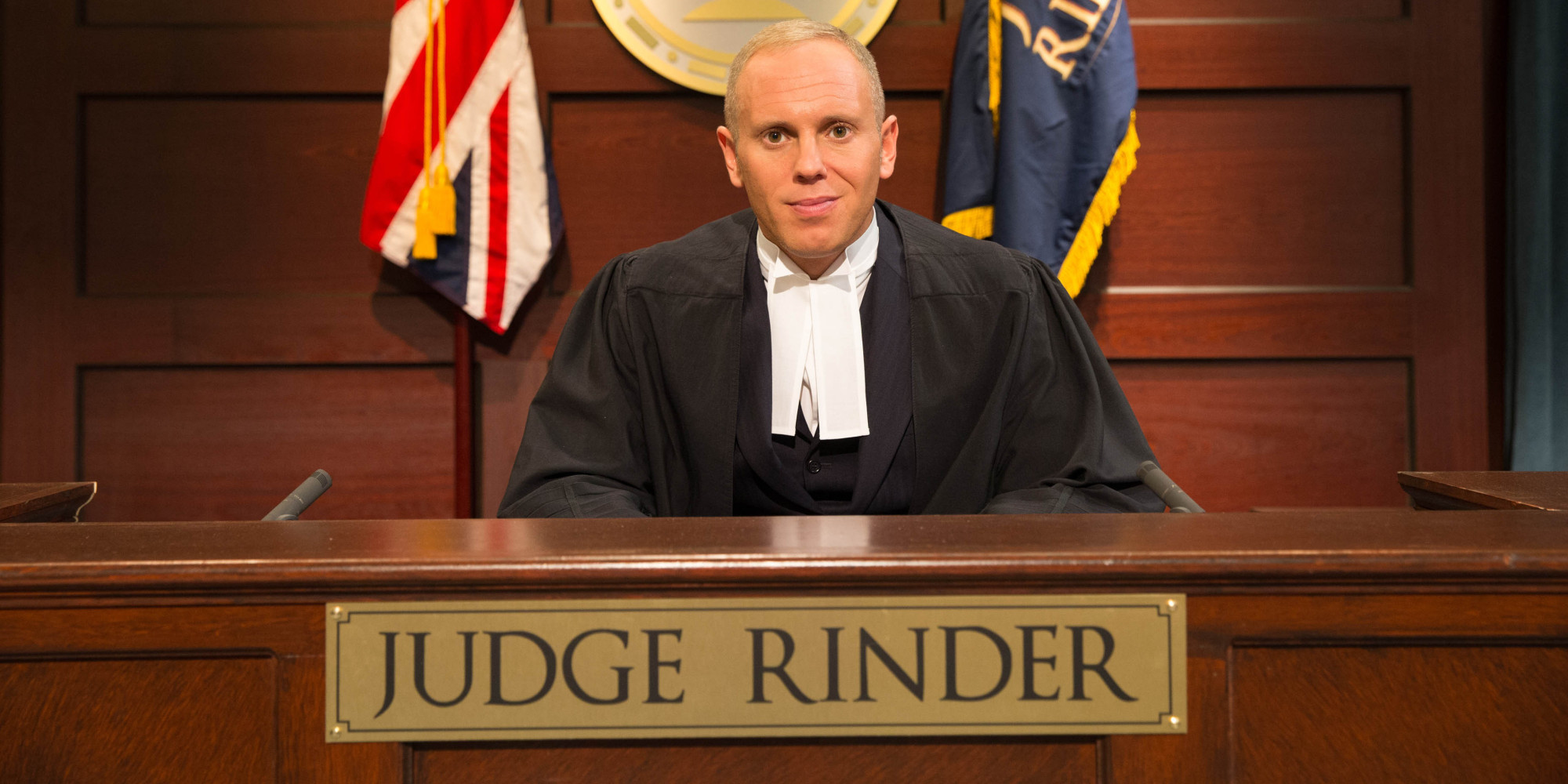 Image result for image of judge rinder
