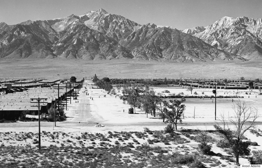 Ansel Adams Manzanar Guard Tower