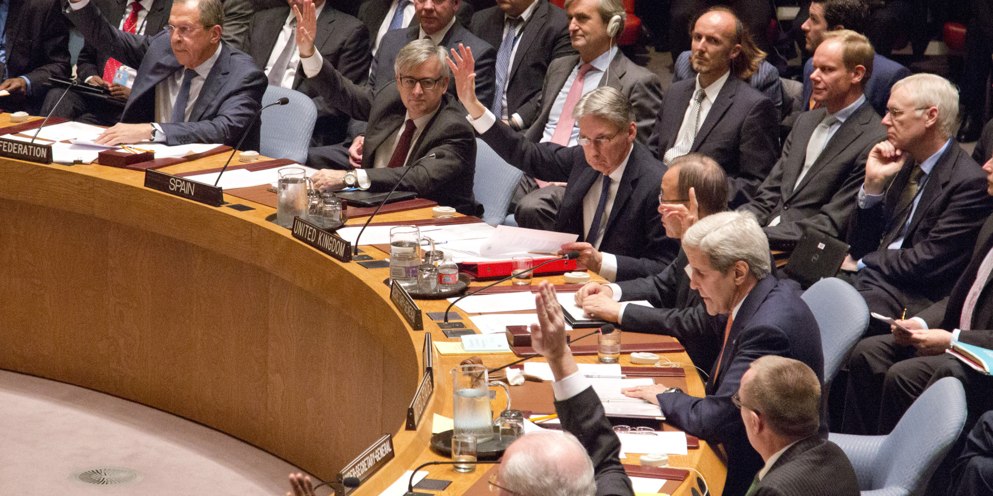 Un Security Council Endorses Roadmap For Peace In Syria