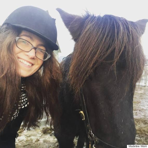 mw with icelandic horse