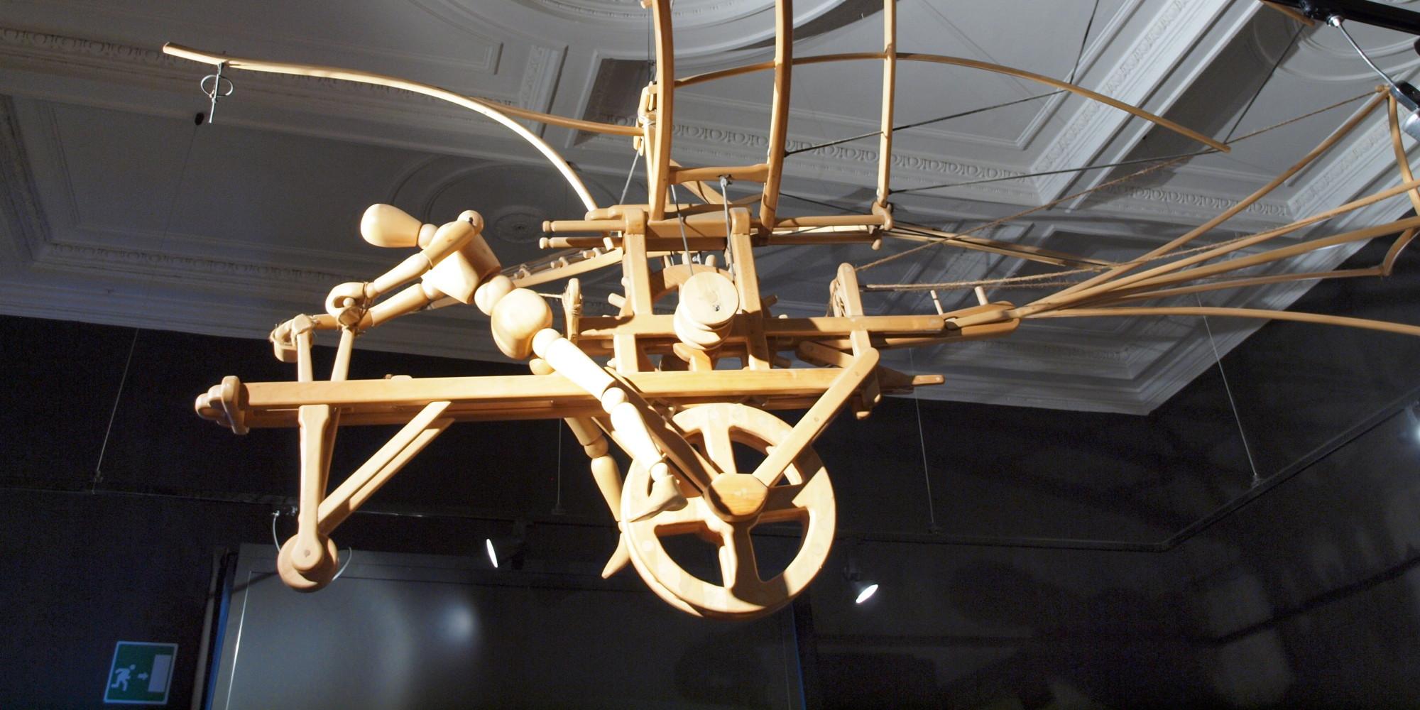 Fascinating Leonardo Da Vinci Exhibition Opens At Science