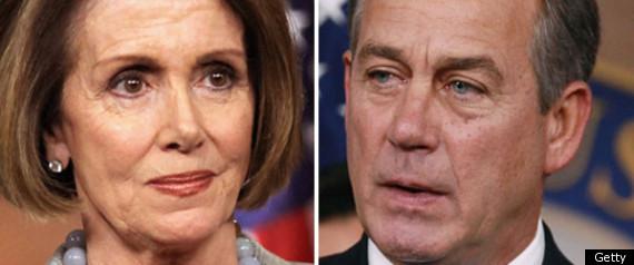 John Boehner Nancy Pelosi