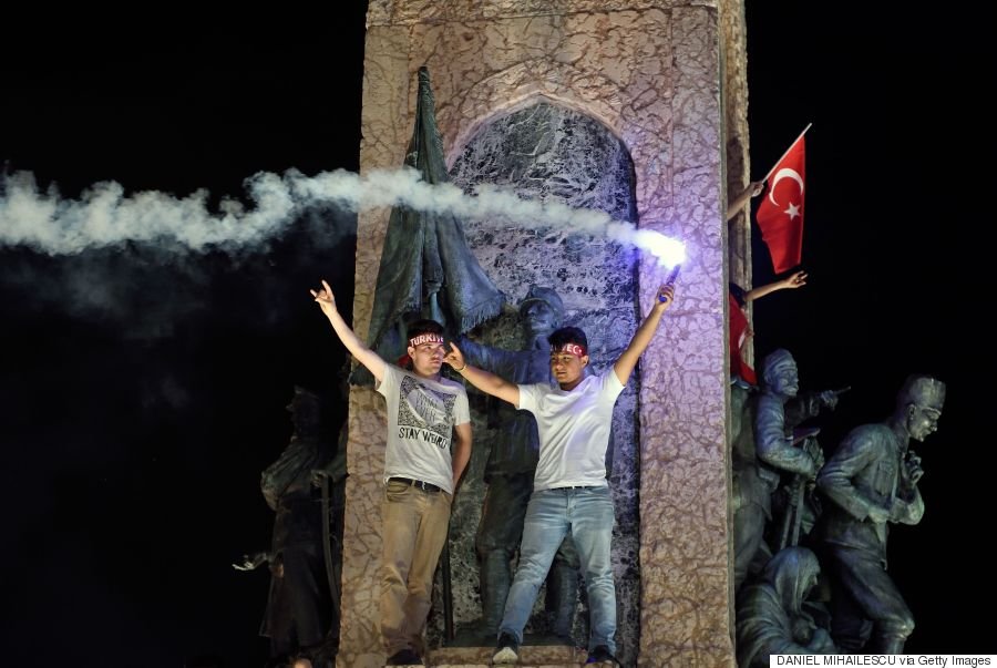 turkey protest coup
