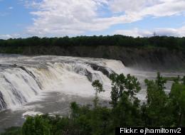 Cohoes Falls at Cohoes, NY