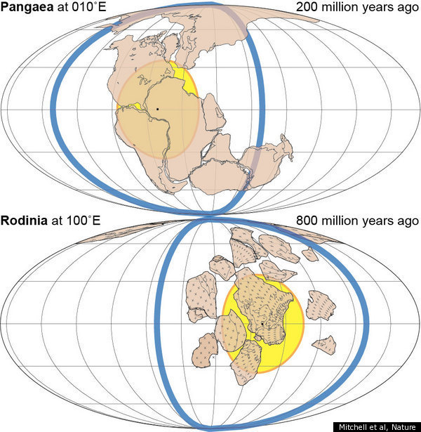 Amasia Supercontinent To Form Over Arctic Yale Geologists