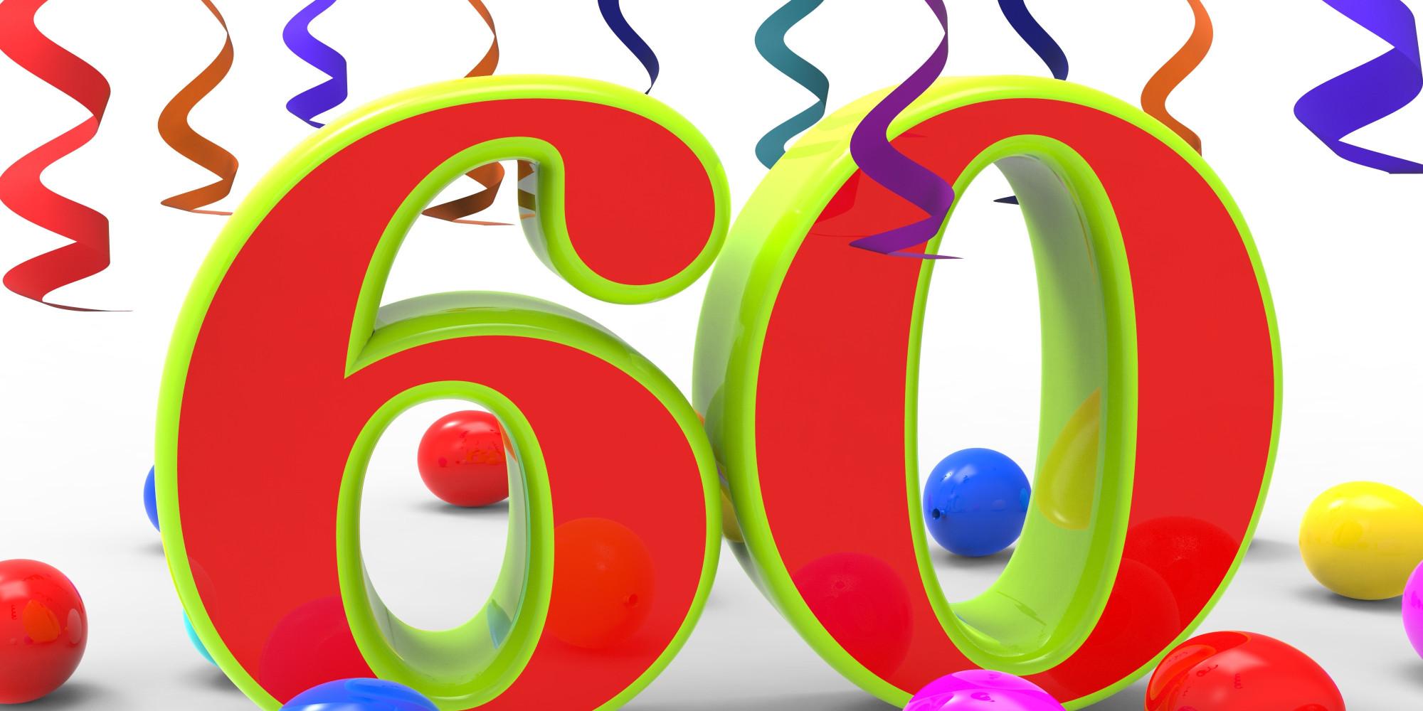 Happy 60Th Birthday Clip Art