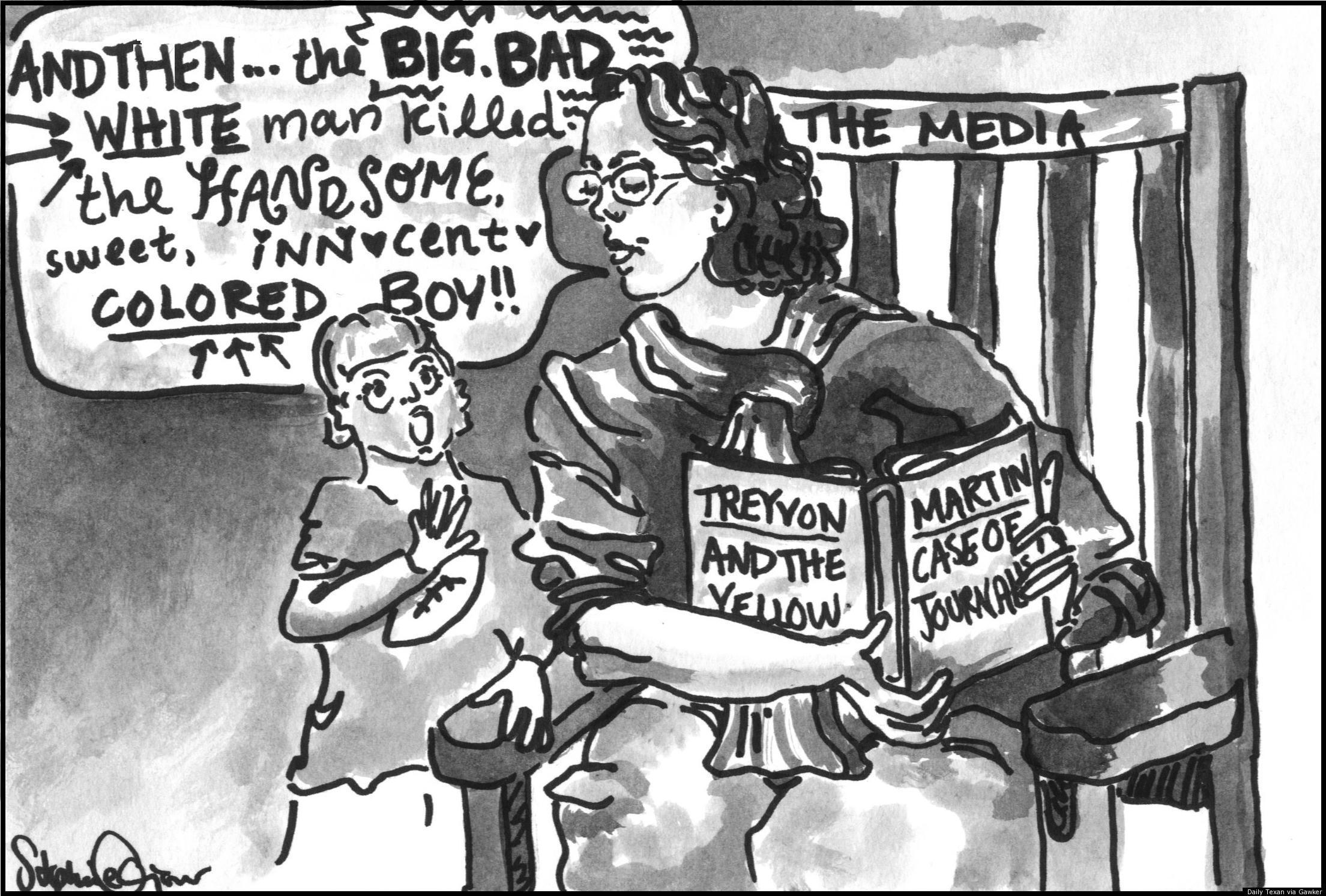 The racist comic strip