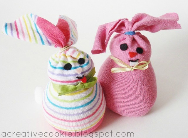 Image result for Rabbit rice sock craft
