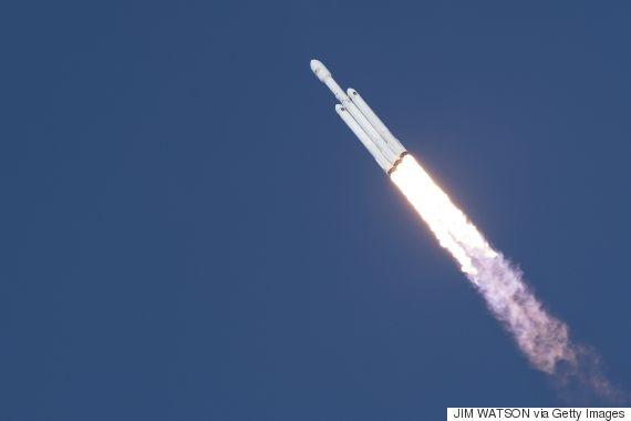 heavy falcon rocket