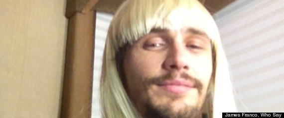 James Franco Blond Wig Actor Shows Off New Do PHOTOS
