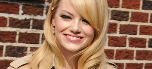 Emma Stone's Polished, Preppy Look For Letterman (PHOTO