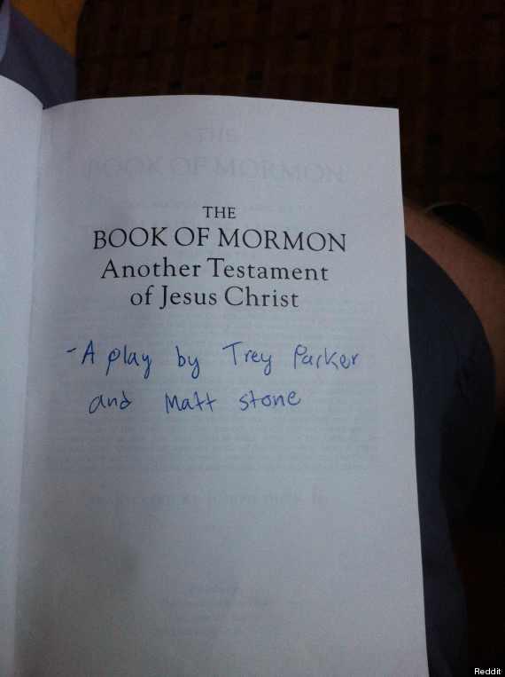 Who Mormon Bible Wrote