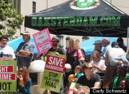 Obama Oakland Protest