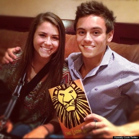 Tom Daley Girlfriend Kassidy Cook