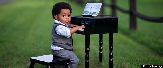Cute Piano Kid