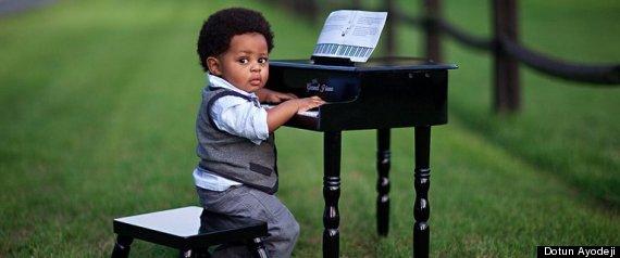 Cute Piano Kid