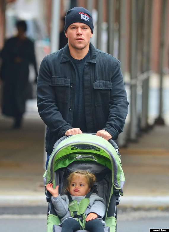 matt damon daughter