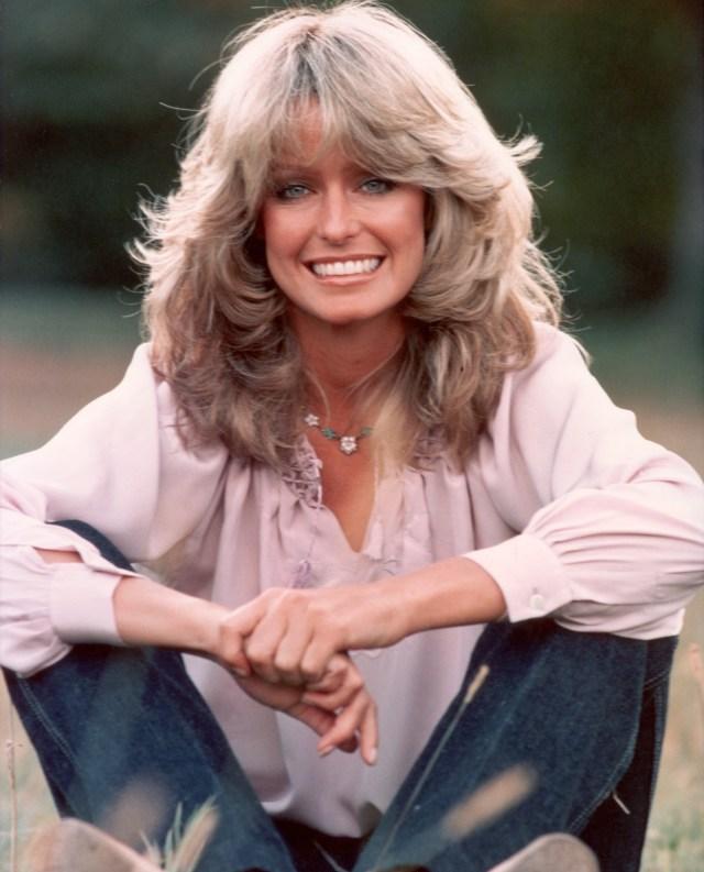 farrah fawcett and her iconic '70s hairdo (photo) | huffpost