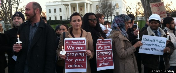 White House Vigil Gun Control